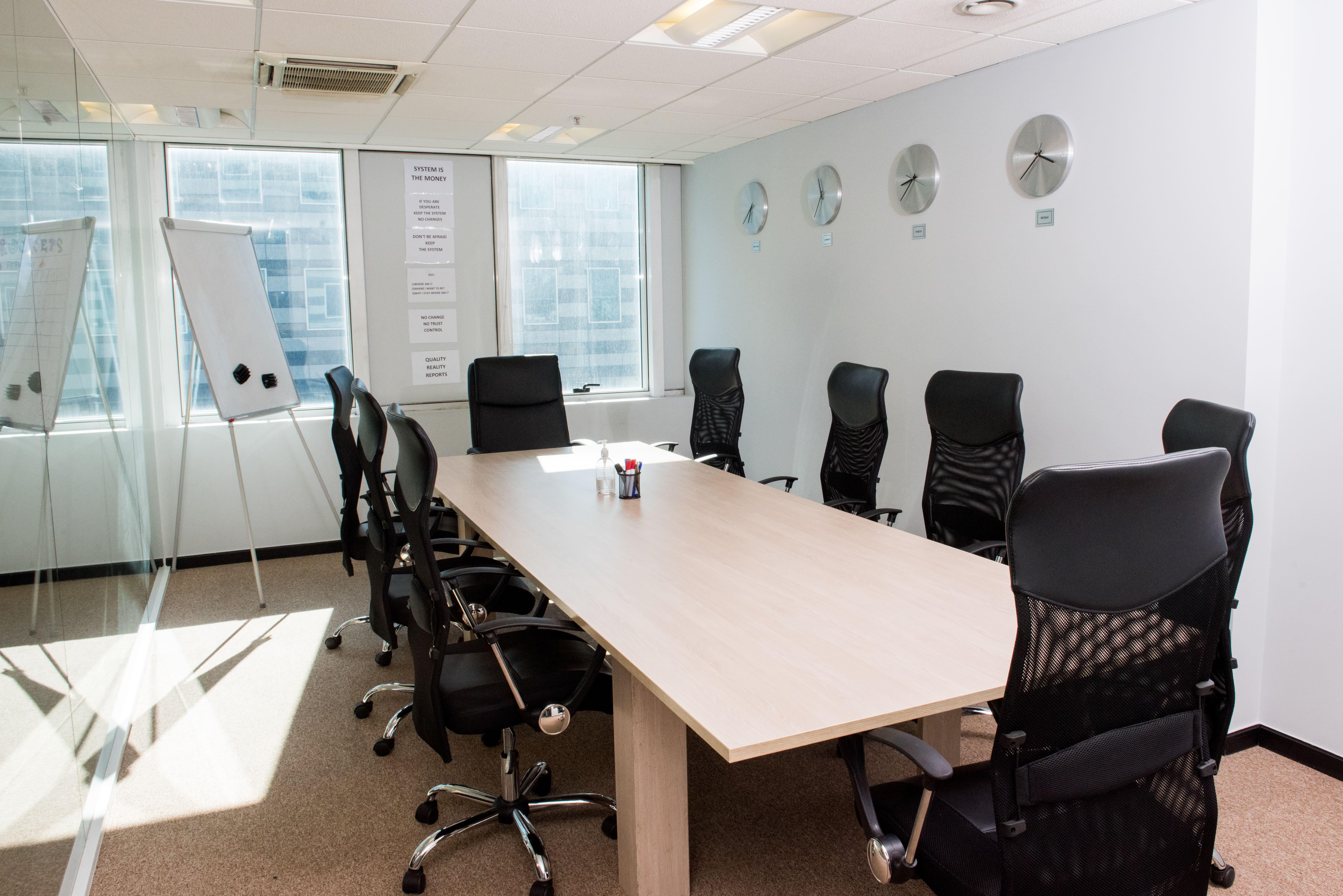 Αίθουσα συνεδρίασης στην Aegean Equity