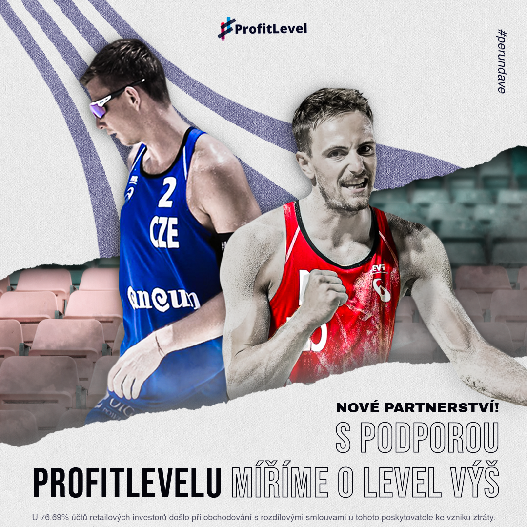 Beach volleyball players Perušič and Schweiner have a new partner: in the Olympic season, they will be supported by the ProfitLevel broker brand